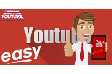 Pacchetto campagna visualizzazioni YouTube EASY