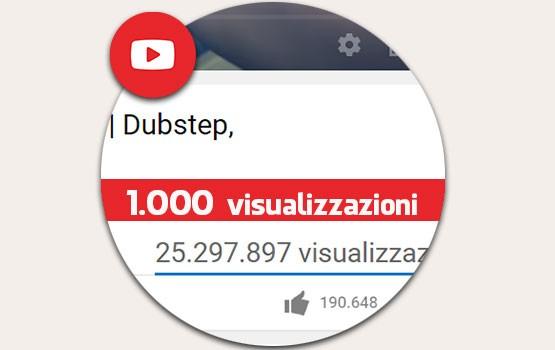 1.000 visualizzazioni Reali