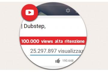 come aumentare le visualizzazioni youtube con 100.000 visualizzazioni alta ritenzione Vere