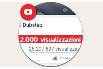 2.000 visualizzazioni Vere