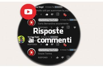 Risposte ai commenti YouTube da account italiani