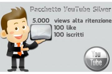 Pacchetto campagna YouTube Silver