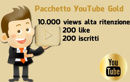 Pacchetto campagna YouTube Gold