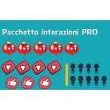 Pacchetto Marketing interazioni PRO YouTube