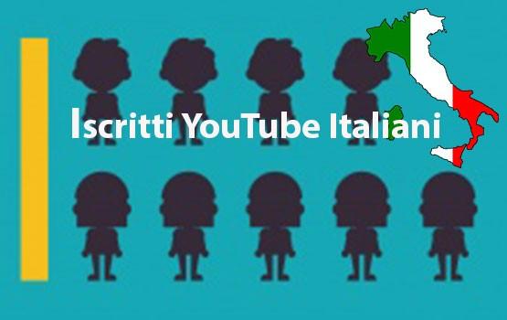 comprare iscritti youtube italiani