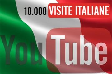 10.000 visualizzazioni YouTube Italiane