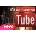 1.000 visualizzazioni Vevo YouTube