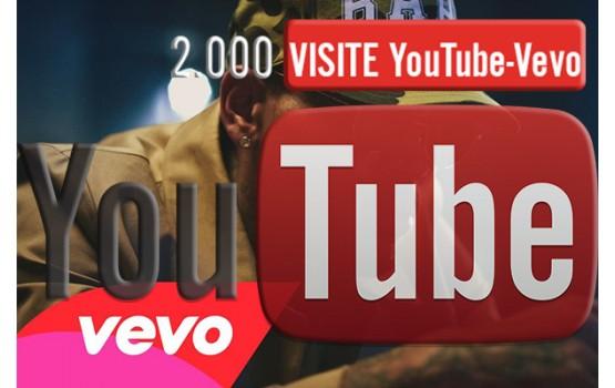 2.000 visualizzazioni Vevo YouTube