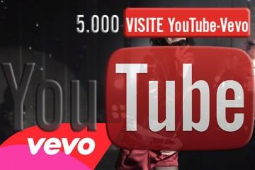 Visualizzazioni Vevo-YouTube 5000 views