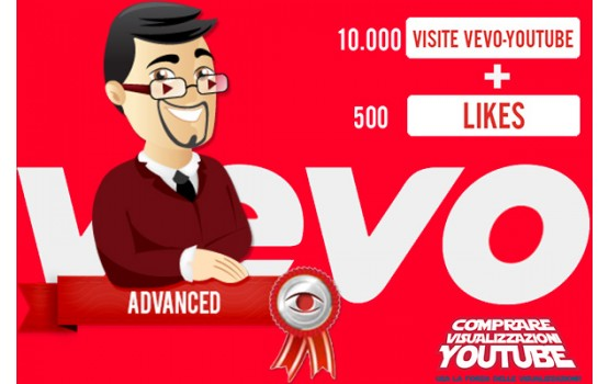 Pacchetto Advanced per canali Vevo/YouTube