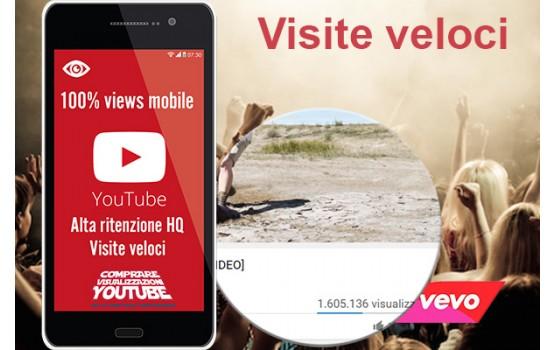 Visualizzazioni alta ritenzione HQ mobile Veloci