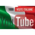 1.000 visualizzazioni YouTube Italiane
