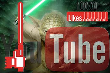 Aumenta 10.000 like YouTube